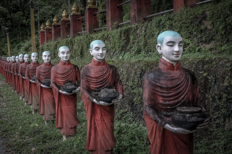Cueva de Kaw Ka Taung 2 - Ciudades de Myanmar
