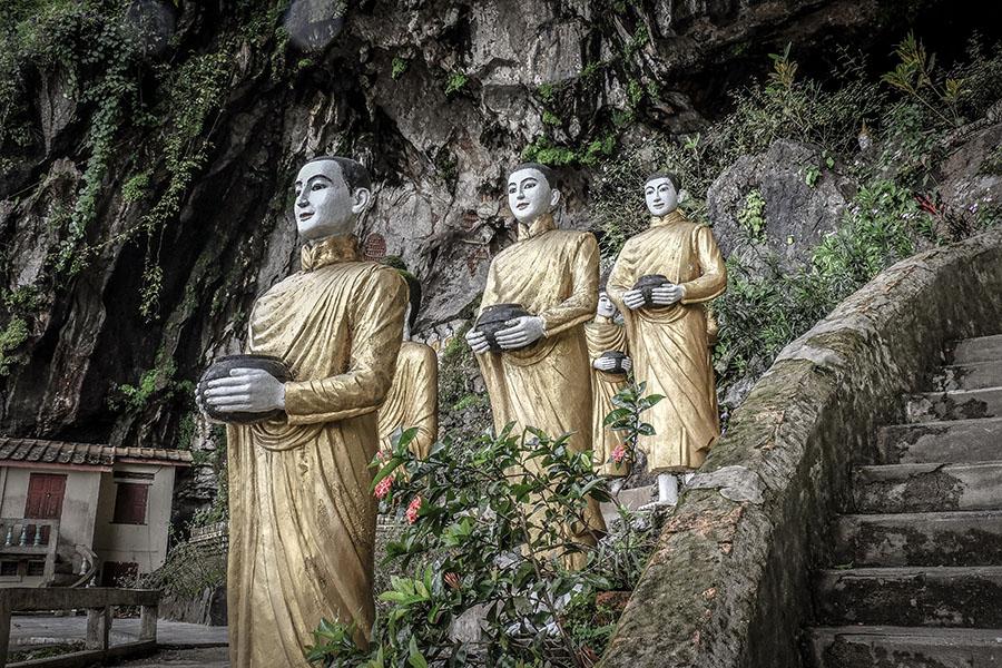 Hpa-an, descubre las cuevas de Buda en Myanmar