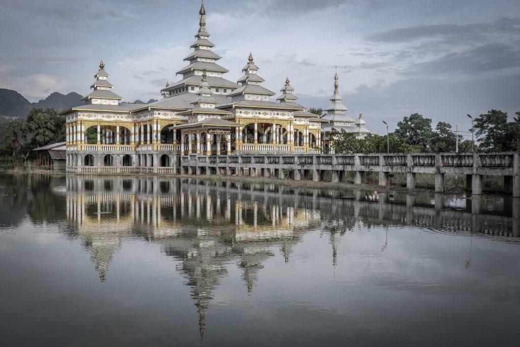 El Monasterio de Kyauk Kalap 2 1024x683 - Las puestas de sol de Myanmar