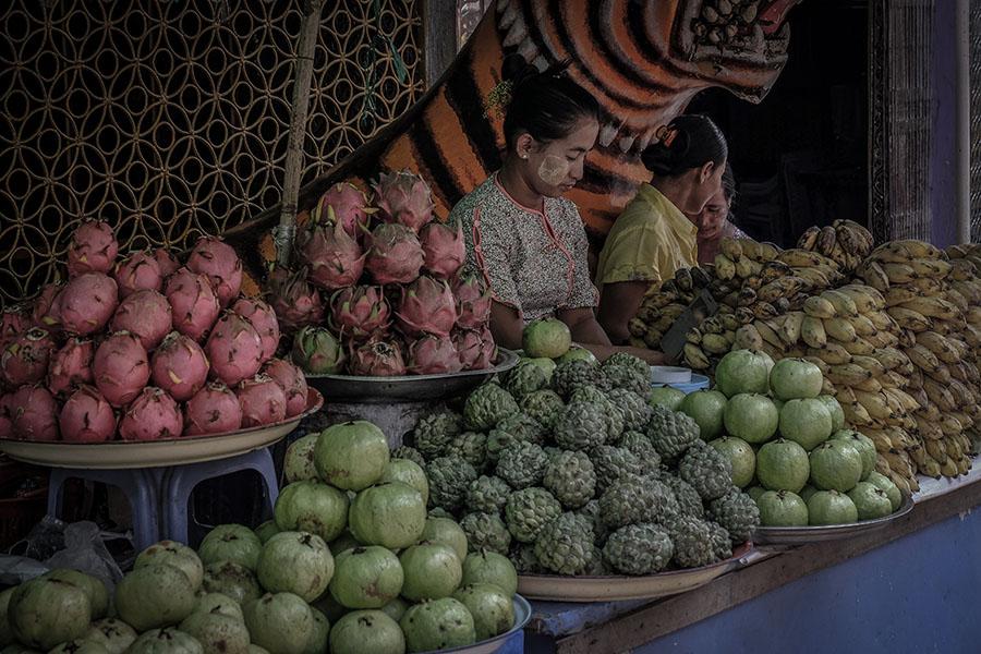 visitar mercados en bagan
