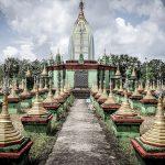 pagodas en bago 150x150 - Las puestas de sol de Myanmar