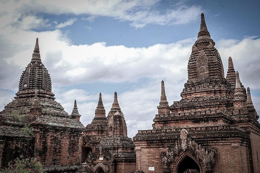 templos de bagan - Ciudades de Myanmar