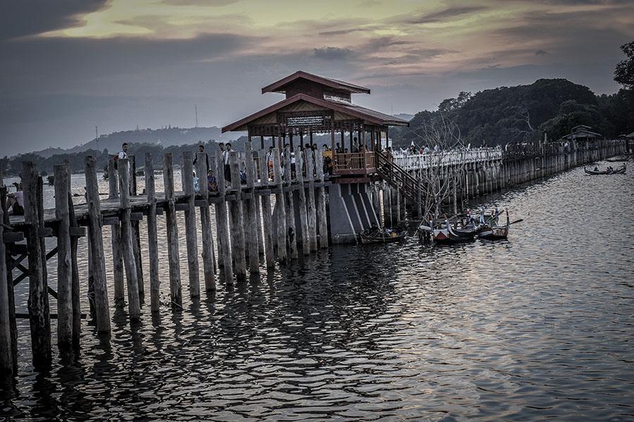 u bein bridge - 15 motivos para ir ya a Myanmar