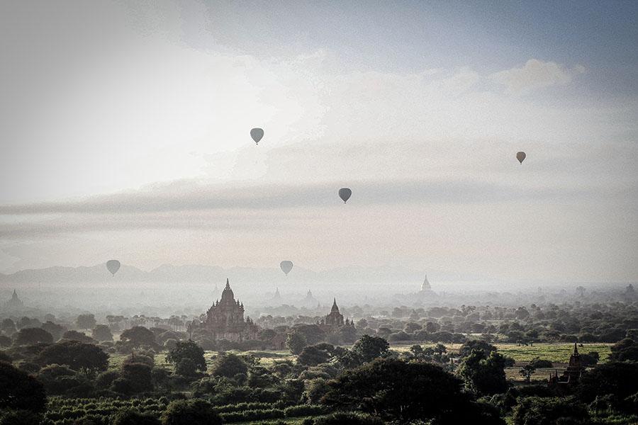 volar en globo en bagan - 15 motivos para ir ya a Myanmar