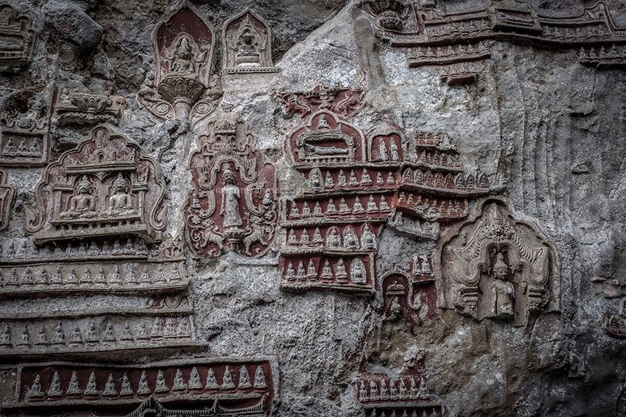 Cueva Kawgun - Hpa-an, descubre las cuevas de Buda en Myanmar