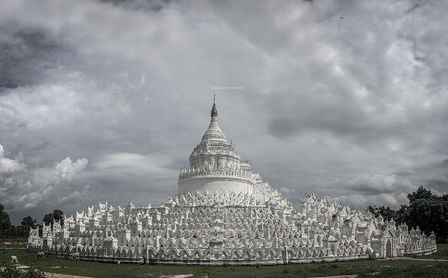 templo blanco mandalay