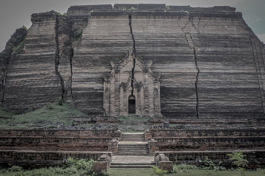 Mingun Pahtodawgyi - Las ciudades antiguas de mandalay