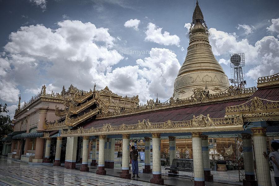 Sagaing myanmar - Las ciudades antiguas de mandalay