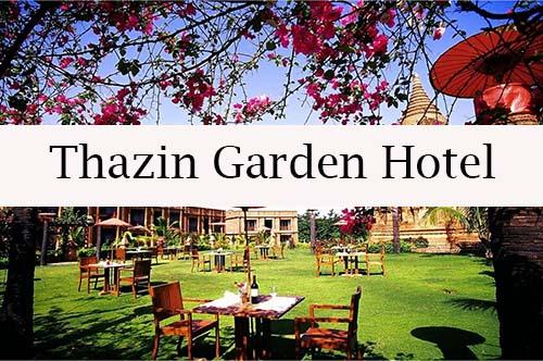 Thazin Garden Hotel - Bagan, la ciudad de los 2000 templos