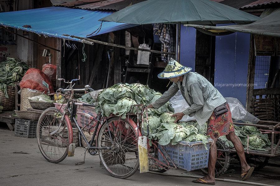 mercado de hpa an 4 - Myanmar guia de viaje
