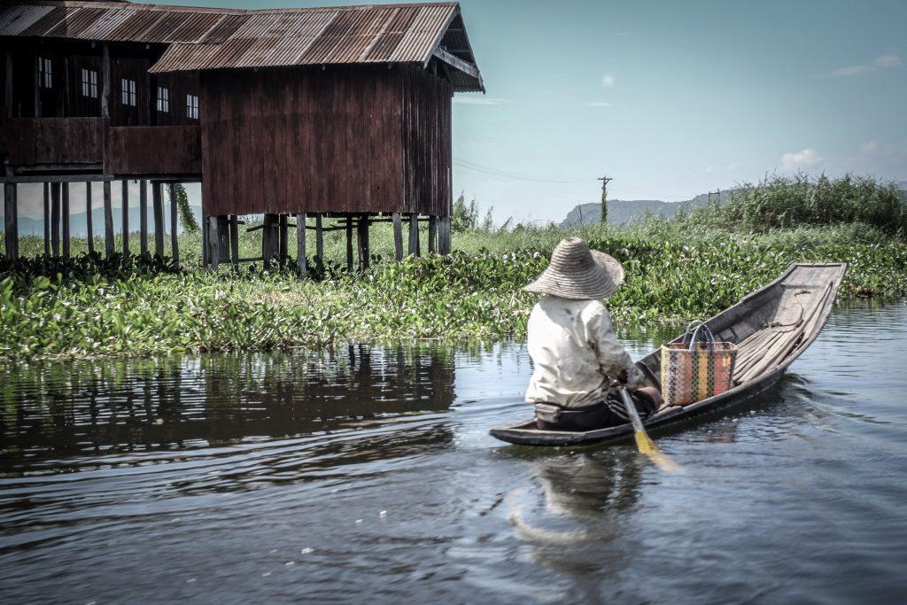mercados flotantes lago inle