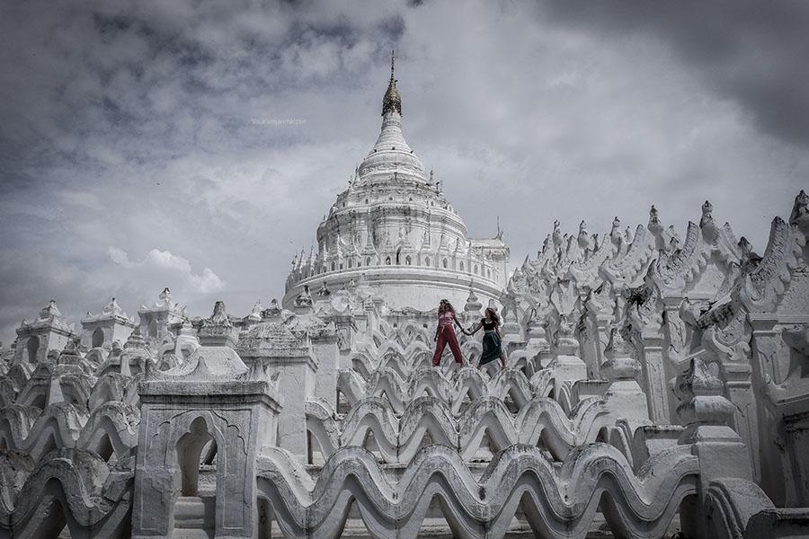 santuario de Ananda - Las ciudades antiguas de mandalay