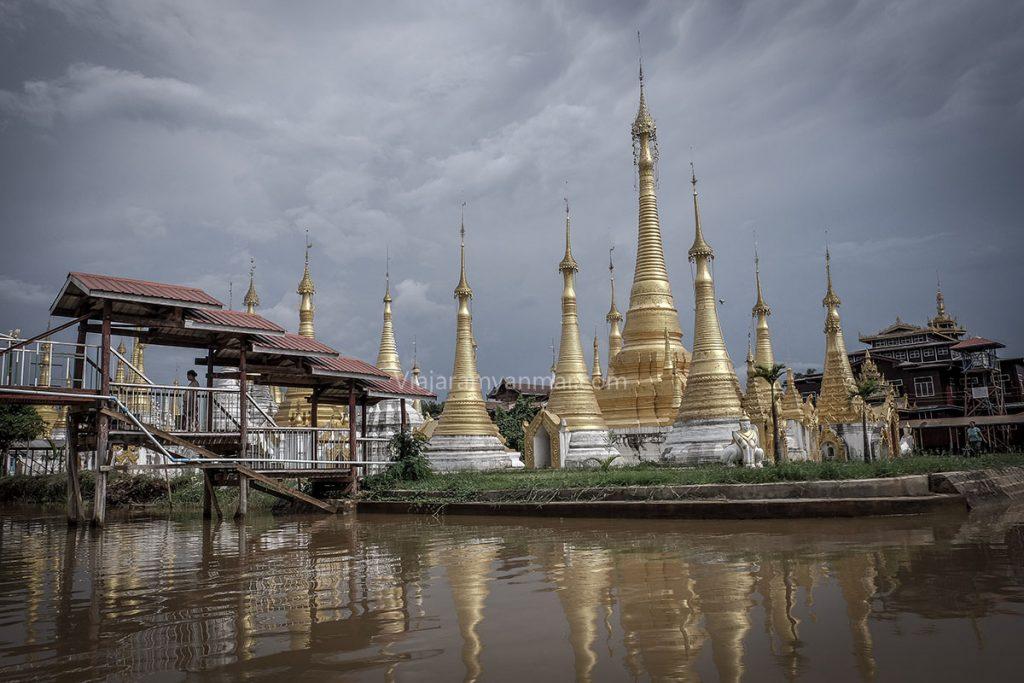 pagoda lago inle