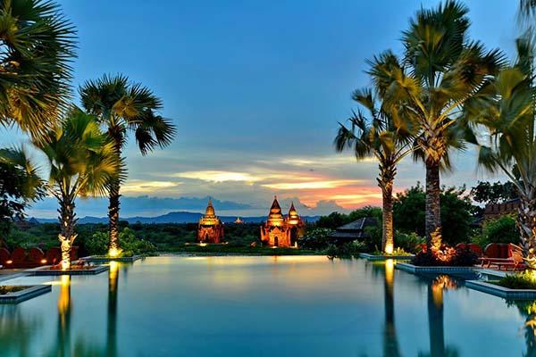 bagan - Los mejores hoteles de Myanmar