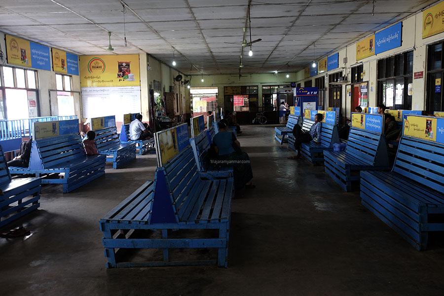 estación ferry yangon - Cómo hacer el visado Myanmar online