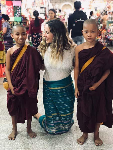 la gente de myanmar - Quien soy