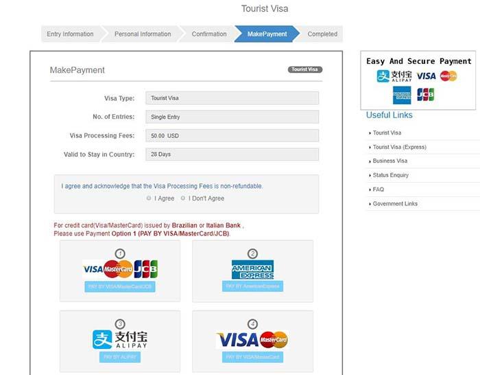 pagar visado online myanmar - Cómo hacer el visado Myanmar online