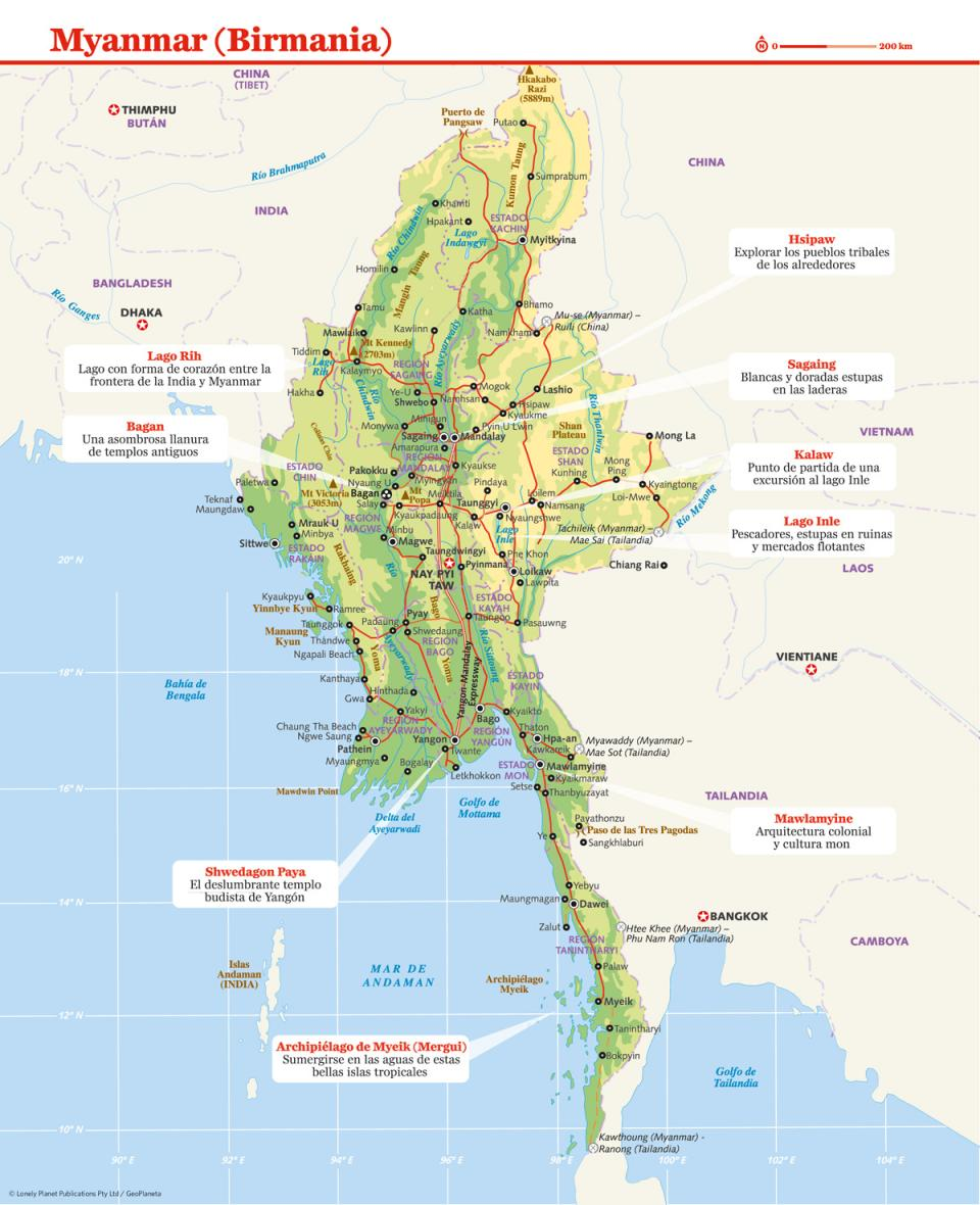 mapa myanmar - Home