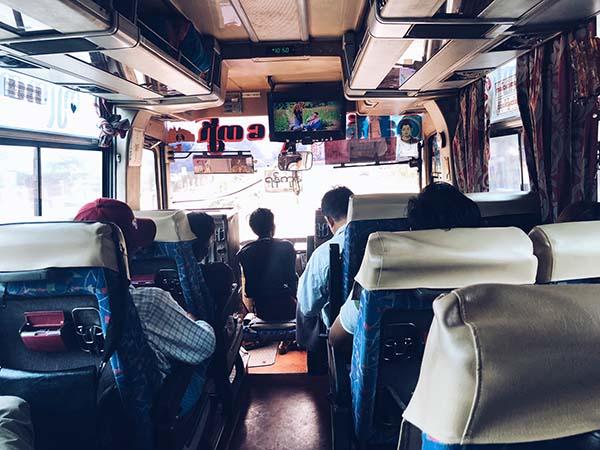autobuses en myanmar