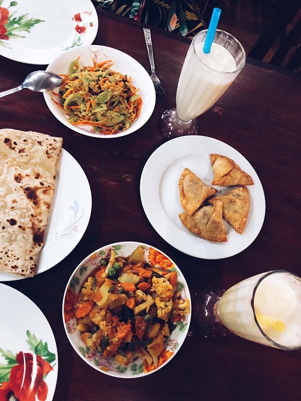 comida en myanmar